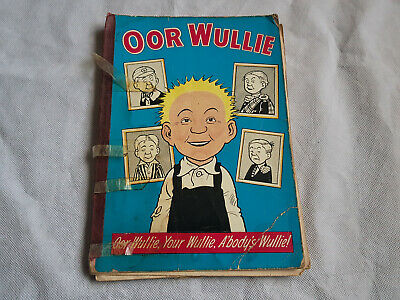 Oor Wullie Comic Book Dandy Annual Published 1966 Hardback Scottish Our Willie