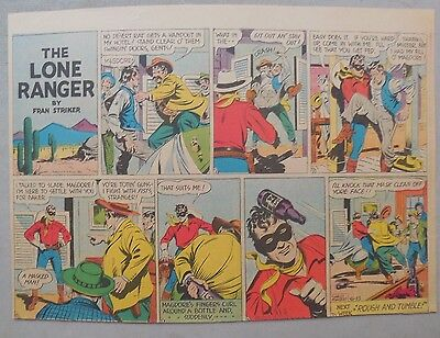 Lone Ranger Sunday Page by Fran Striker and Charles Flanders from 6/13/1943