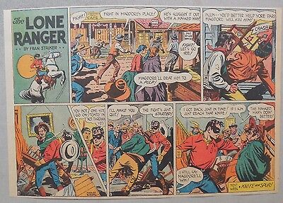 Lone Ranger Sunday Page by Fran Striker and Charles Flanders from 6/20/1943