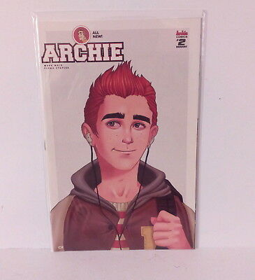 All New Archie #2 NM Waid Staples Variant Bagged Boarded