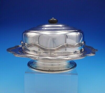 Sheffield Silverplate Cheese Dome with Underplate by LBS Company #5281 (#3275)