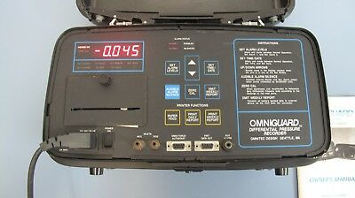 Omniguard Differential Pressure Recorder