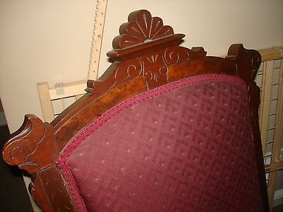 Victorian Platform Rocking Chair Circa 1865