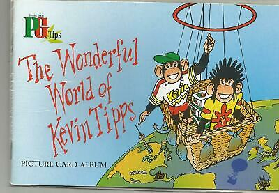 The Wonderful World Of Kevin Tipps (1999)   Empty/Unused Book.