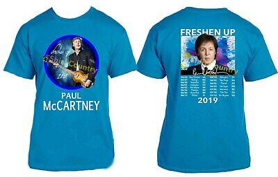 Paul McCartney t shirt 2019 Freshen Up Concert Tour Sizes S to 6X
