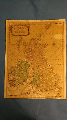 Antique Map - England, Scotland, Ireland And Islands, R.w. Seale 1780