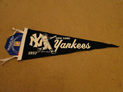 caf0a1ec71d52 New York Yankees Mickey Mantle Felt Pennant By Mitchell-Ness Beautiful Piece