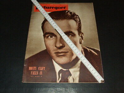 "Monty Clift … on cover … 1950 … british magazine ""Picturegoer"""