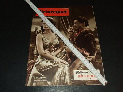 "Hedy Lamarr & George Sanders … on cover … 1950 … british magazine ""Picturegoer"""