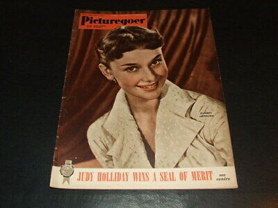 "Audrey Hepburn … on cover … 1951 … british magazine ""Picturegoer"""