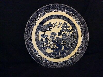 """Johnson Brothers""""Willow"""" dinner plates 10"""", IRONSTONE"""
