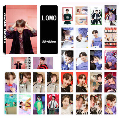 30pcs set Kpop J-hope BTS Map of The Soul: Persona LOMOCARDS Jhope Lomo Card