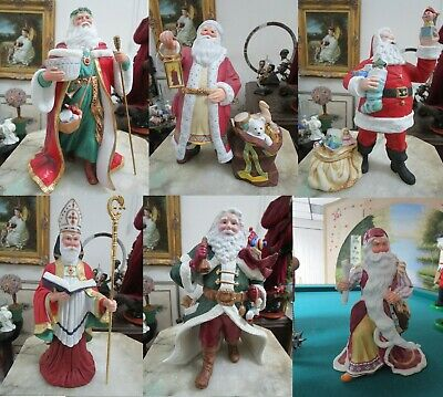 Lenox Collection Victorian Santa St Nicholas Father Christmas Pere Noel Pick One