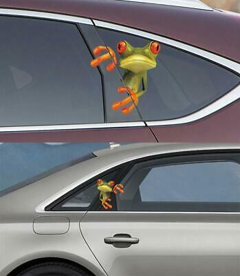 Cool Funny Peep Frog Animal Designed Sticker For Car Decoration Waterproof DIY
