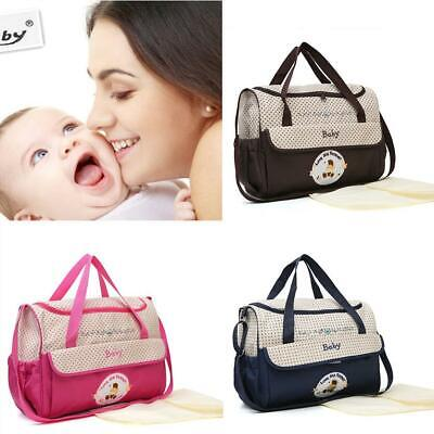Baby Infant Nappy Changing Bag Mummy Maternity Hospital Organiser Diaper Handbag