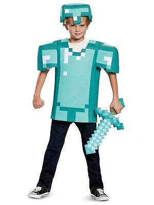 Armor Mojan Minecraft Object Tiers Video Game Fancy Dress Up Boys Costume