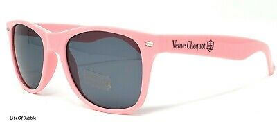 Veuve Clicquot Pink Rose Champagne Plastic Polo Wayfar Sunglasses New In Package