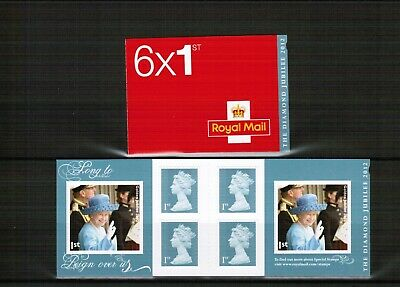 Great Britain 2012 Diamond Jubilee PM 33 Stamp Booklet
