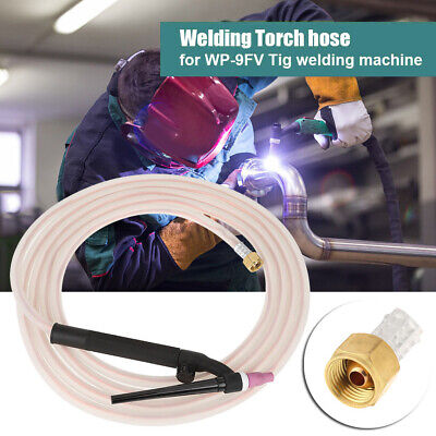 WP-9FV  Tig Welding Torch Complete  Flexible Head M16*1.5mm Soldering Accessory