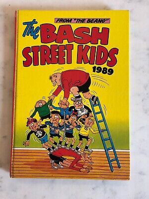 The Bash Street Kids Annual Book 1989 *** Unclipped ***