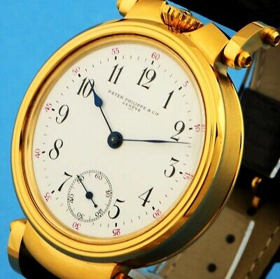 Patek Philippe Original Vintage Certificate Chronometer Gold Movement Engraved