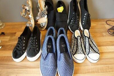 New Look Bundle Girls Size 3 UK Shoes Trainers Sandals Twins?