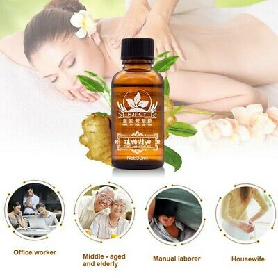 30ml Plant Therapy Lymphatic Drainage Ginger Oil Natural Essential Massage Oil