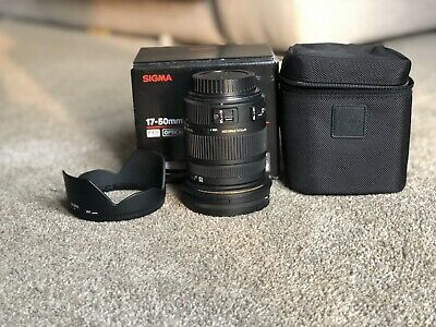 Sigma 17-50mm F2.8 Ex Dc Os. For Canon
