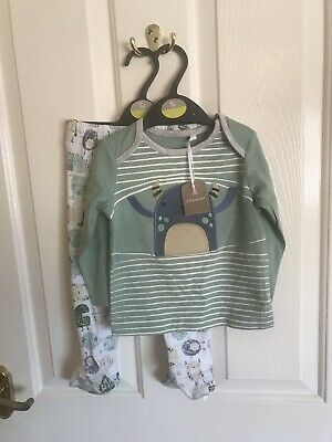 New With Tags Tu Baby Boys Monster Pyjamas Size 9-12 Months
