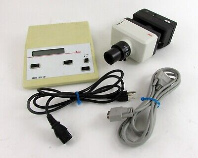 Leica MPS 30 Microscope Camera & Control Box with Cables - 35mm