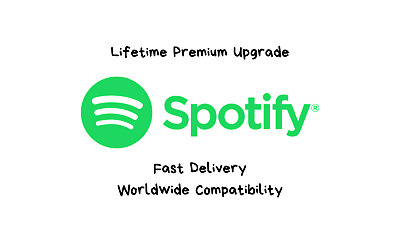 Spotify Lifetime Premium   Fast Delivery   WORLDWIDE