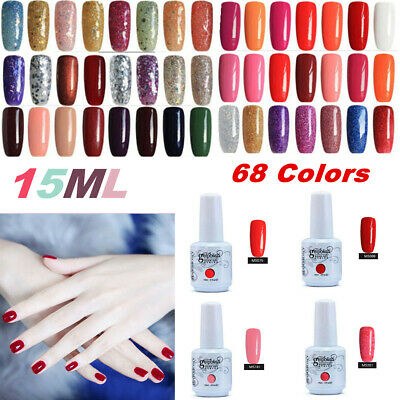 15ML GEL LAB Soak Off UV LED Gel Polish Base Top Coat Manicure Varnish Lacquer