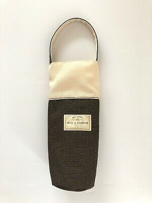 Moet & Chandon Cream Brown Champagne Cooler Bag With Handle