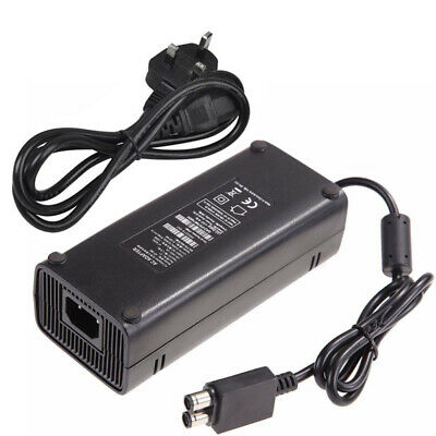 For Xbox 360 Slim Power Supply Adapter Charger Brick AC 135W 12V UK Plug Mains