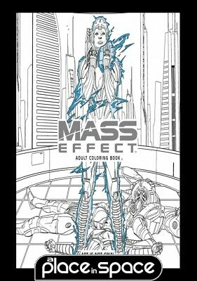 Mass Effect Adult Coloring Book  - Softcover