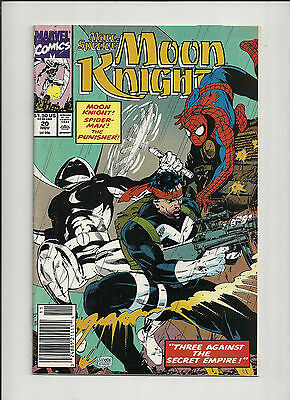 Moon Knight  #20 VF+  Vol 3