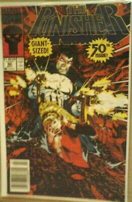 Punisher 50 Marvel comic NM MIKE GOLDEN COVER GIANT SIZE modern age