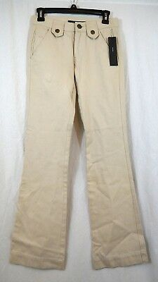 Marc Jacobs Womens Flare Leg New Sand Size 0 Career Pants