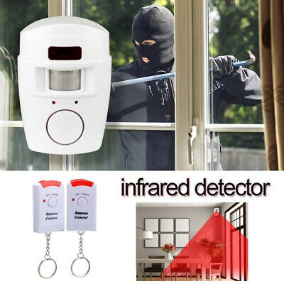 C17A 2 Remote Controller Wireless Alarm Monitor Alarm System Office Wireless
