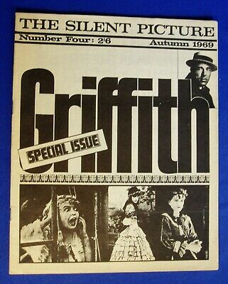 The Silent Picture magazine: 5 issues 1969-1972.