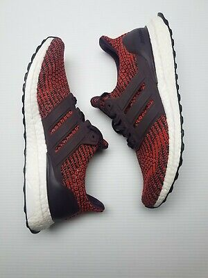 266a3c4f085 Adidas UltraBoost 4.0 Runner Original Energy Red Maroon Men Size 9.5 (CP9248 )