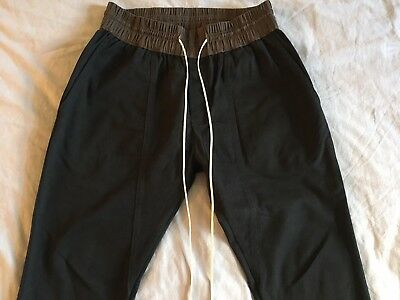 d631c608 FEAR OF GOD Style Black Trouser Chino Pants FOG Pacsun Essentials ...