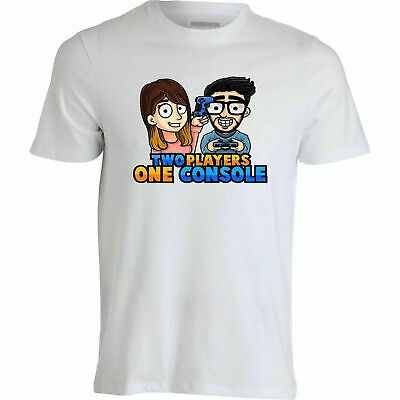 T-shirt maglia dei Two Players One Console  STEF E PHERE Italian Youtuber Gaming