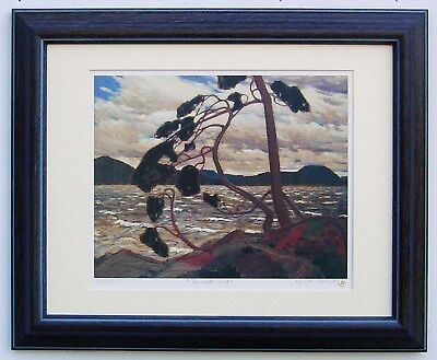 """Tom Thomson, Group of Seven """"The West Wind"""" Limited Edition print with frame"""