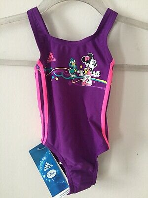 Adidas Disney Minnie Mouse Girls Swimsuit Age 9-12 Months