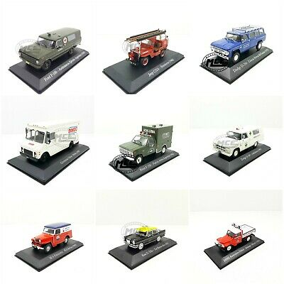 1/43 Vehículos Servicio Argentina Ika Mercedes Peugeot Reanult Ford Jeep Iame