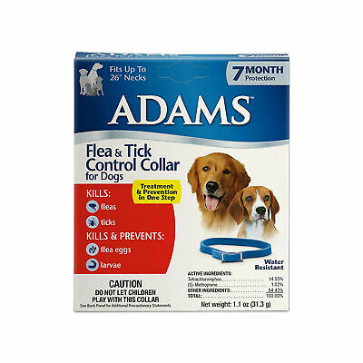 Flea and Tick Control Collar For Dogs 7-month protection Water Resistant Quality