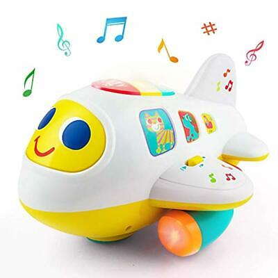a6ba3fa69 Baby Electronic Musical Airplane Toys for 1 2 3 Year Old Boys Girls