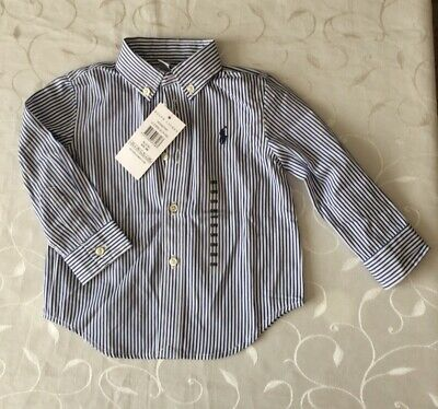 Ralph Lauren Baby Boy's  Long Sleeve Shirt (9 Months)