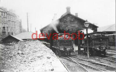 Railway Photo Print LNER Whitby Shed c1910 North Eastern NER F8 1579 35 Loco